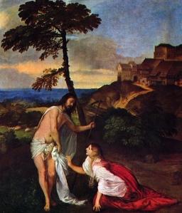 Noli Me Tangere (1511-12) - Titian (Titien)